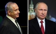 Netanyahu y Putin abordan la situación de Siria tras anuncio de retirada de EE UU