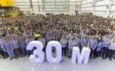 Treinta millones de motores Renault España