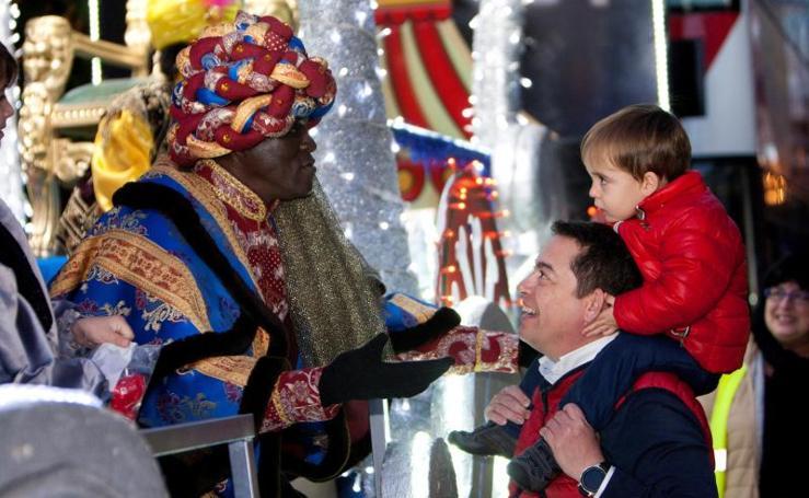 Los Reyes Magos recorren España