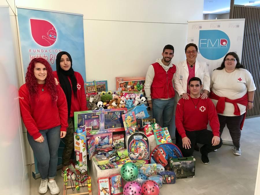 La Fundación Instituto FIVIR colabora con Cruz Roja para llegar a más de 1500 niños valencianos