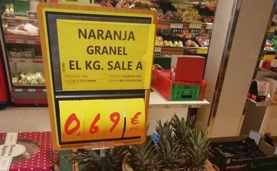 La Unió de Llauradors critica la venta de naranjas de Sudáfrica en una gran cadena de supermercados
