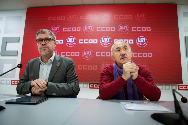 Los sindicatos convocan la primera movilización contra el Gobierno de Pedro Sánchez