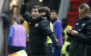 Marcelino: «Hace falta traer jugadores de arriba, la paciencia ya se agotó»