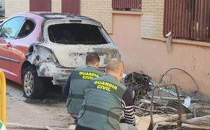 Detenido el autor del incendio de 16 vehículos en Massamagrell y Museros