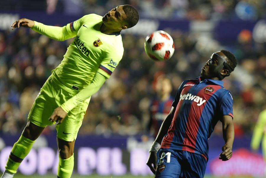 Fotos del Levante - Barça de Copa del Rey