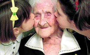 La abuela del mundo era su hija