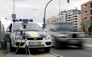 Detenido por circular a 126 km/h por la avenida de Tarongers de Valencia
