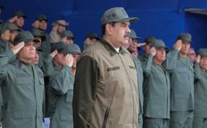 Los militares, la columna vertebral de Maduro