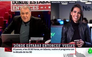 Ferreras planta en directo a Ana Pastor: «Hay partido del Madrid»