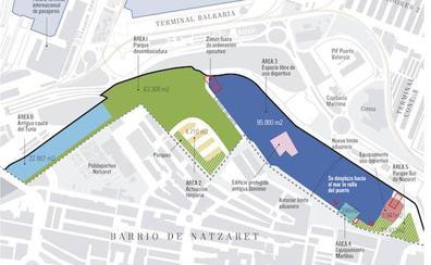 Un nuevo parque Central de Valencia en Nazaret