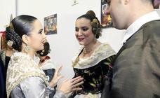 Marina Civera y Sara Larrazábal, madrinas de la muestra de bocetos de la agrupación del Marítimo