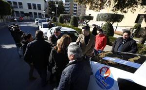 Taxis con parados desde Paterna al despacho de Mónica Oltra