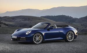 Lista la nueva generación  del Porsche 911 Cabrio