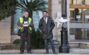 Gandia compra un dron para hallar casas que hayan ejecutado obras ilegales