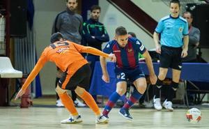 El Levante FS deja escapar la victoria en los últimos segundos frente al Aspil
