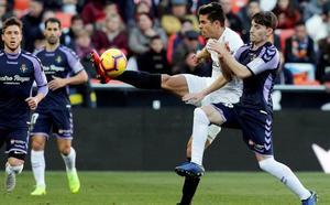 VÍDEO | Así ha sido el Valencia 1-1 Valladolid