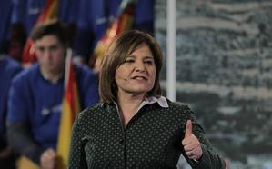 Isabel Bonig apuesta por un proyecto político «sin complejos»