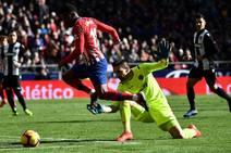 Fotos del Atlético de Madrid-Levante UD