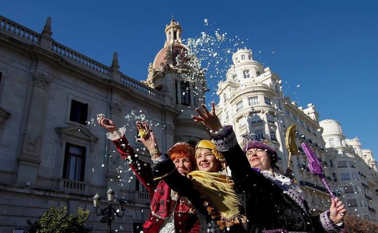 Cabalgata de las Magas de Enero 2019 en Valencia