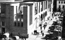 El edificio social que se quedó a medio construir en el centro de Valencia