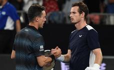 Bautista despide en Australia a un Murray que se acerca a su adiós