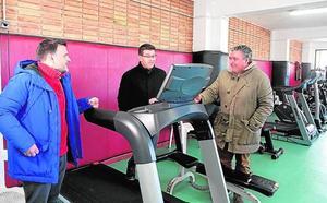 Nuevas máquinas y mejoras en el polideportivo