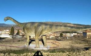 El dinosaurio vuelve a Aras de los Olmos