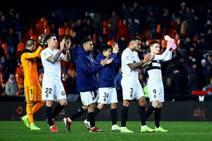 Fotos del Valencia - Sporting de Copa del Rey