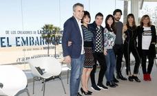 Fotos de la presentación en Valencia de la serie 'El Embarcadero' de Movistar+