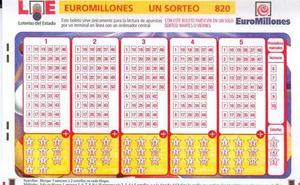 Combinación ganadora de Euromillones del martes 15 de enero de 2019 y premios del sorteo de hoy