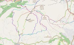 Rescatan a dos senderistas de 61 y 70 años a 1.100 metros en el Puig Campana