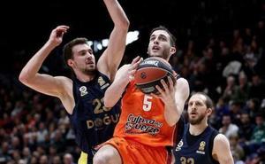 Semana clave para el futuro de Sergi García en el Valencia Basket