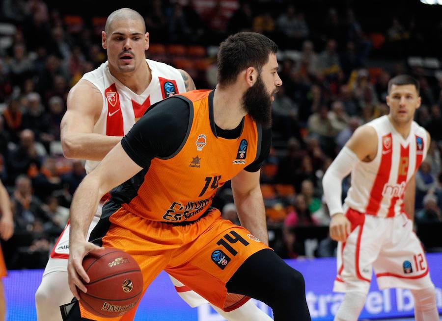Fotos del Valencia Basket-Estrella Roja