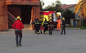 Los bomberos rescatan a una pareja que practicaba escalada en Alcalalí