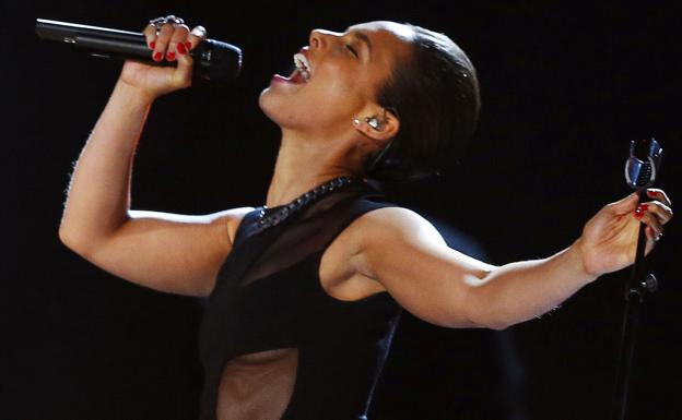 Alicia Keys. /Reuters