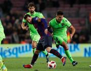 Fotos del Barça-Levante de Copa del Rey