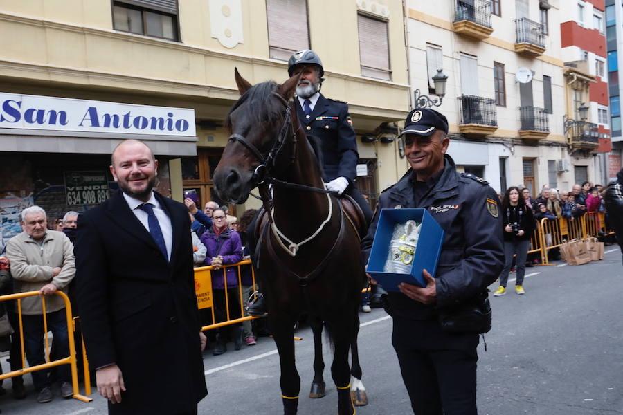 Bendición de los animales por San Antonio en la ciudad de Valencia