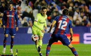 Lío por una alineación indebida del Barça que puede meter al Levante en cuartos de la Copa