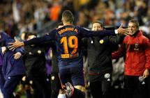 Fotos del Celta-Valencia