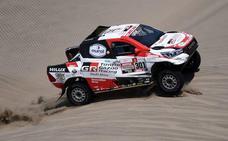 Toyota se luce con Al-Attiyah