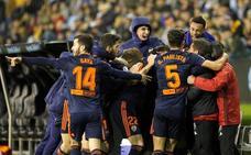 El Valencia vuelve a la vida