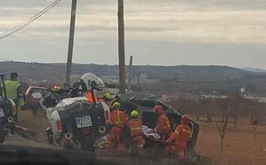 Un joven de 17 años muere tras chocar contra el poste de la luz en una carretera de Utiel