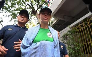 Ordenan prisión preventiva para la escort que denunció la «trama rusa»