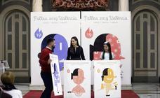 Presentación del cartel de Fallas 2019