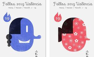 Así son todas las versiones del cartel de Fallas 2019