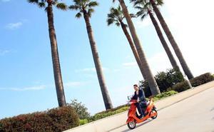 Otra empresa ofrece desde hoy 150 motos eléctricas más de alquiler en Valencia