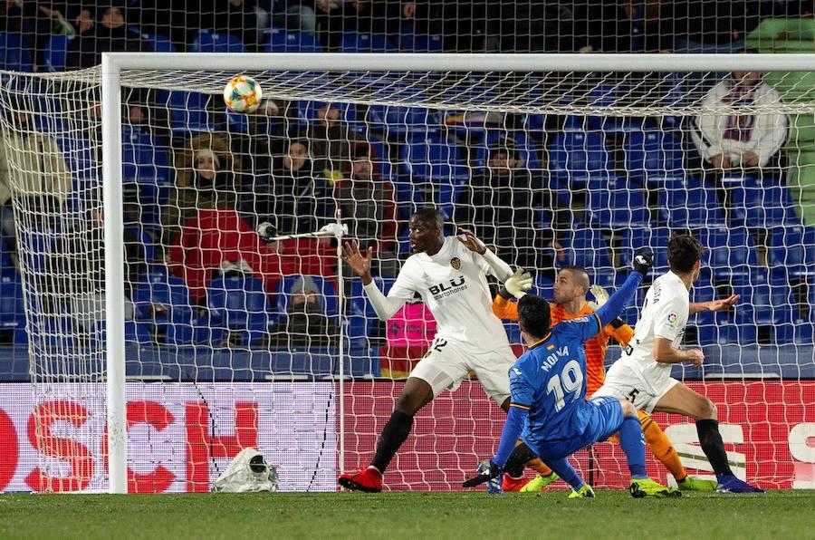 Fotos del Getafe 1-0 Valencia de Copa del Rey