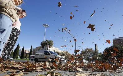 El viento alcanza en Chiva los 121 kilómetros por hora