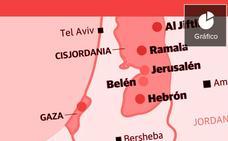 Un viaje de cinco personas a Palestina para visitar proyectos que suman 30.000 euros