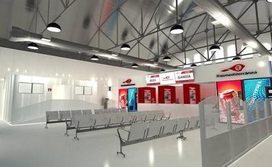 Un tinglado del puerto de Gandia albergará la nueva terminal de pasajeros de Trasmediterránea